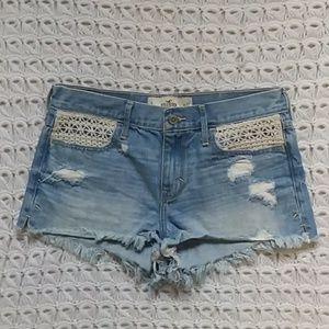 Hollister Jean cut off shorts